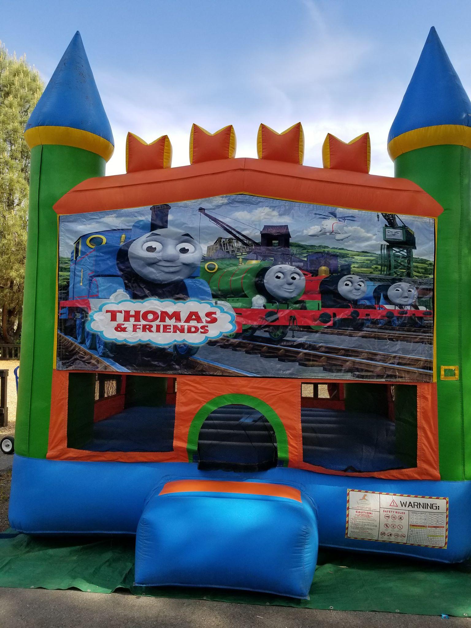 Thomas the Train Bounce House
