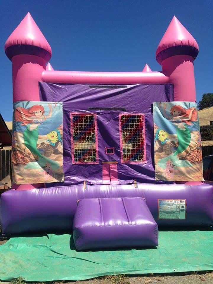 Little Mermaid Bounce Castle