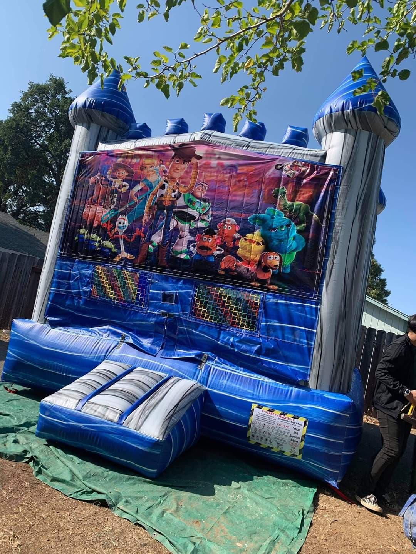 Blue Castle Bounce House